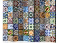 Paraván - Colorful Mosaic II [Room Dividers]